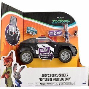 Brinquedo Zootopia Deluxe Judys Police Cruiser Sunny