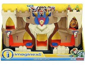 Brinquedo Imaginext Castelo Caverna Do Leão Bfr70