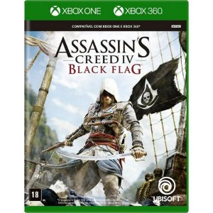 Jogo Midia Fisica Assassins Creed Black Flag Xbox 360 e One