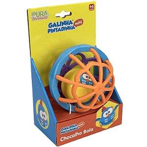 Brinquedo Infantil Chocalho Bola da Galinha Pintadinha 20218