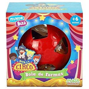 Brinquedo Infantil Mundo Bita Bola de Formas YesToys 20118