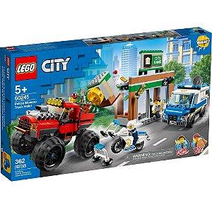 Lego City Policia Monster Truck Caminhao de Assalto 60245