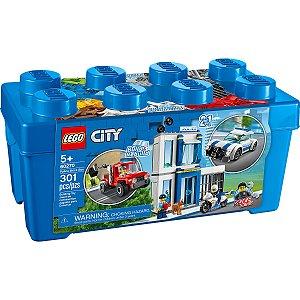 Lego City 2 em 1 Caixa de Peças da Policia 301 Peças 60270