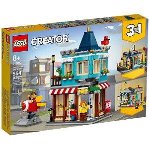 Lego Creator Loja de Brinquedos da Cidade 554 Peças 31105