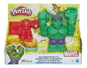 Playdoh Massinha Play Doh Marvel Hulk Esmaga Hasbro E1951