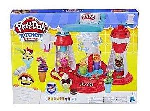 Massinha Super Maquina De Sorvetes Play-doh Hasbro E1935