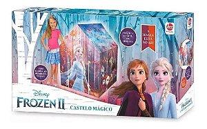 Barraca Toca Casinha Infantil Castelo Mágico Frozen 2 Líder