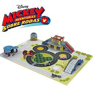 Brinquedo Pista Circuito Aventura Mickey Disney Xalingo