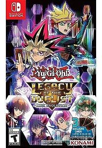 Jogo Yugioh ! Legacy Of The Duelist Switch Midia Física Novo