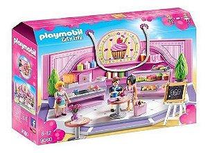 Brinquedo Playmobil Menina 9080 Loja De Cupcake Sunny Lindo