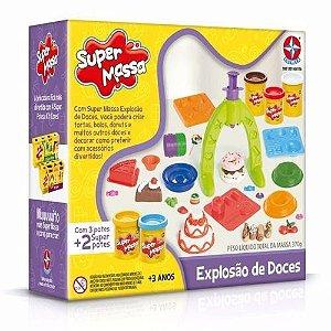 Brinquedo Super Massa Explosão De Doces Original Estrela