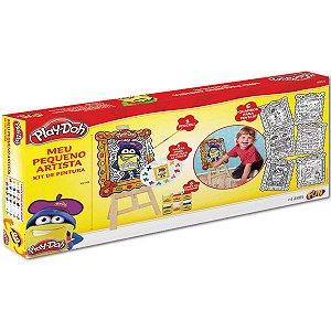 Play Doh Kit de Pintura Meu Pequeno Artista da Fun 80059