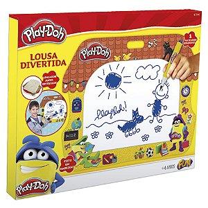 Brinquedo Play Doh Kit de Artes Lousa Divertida da Fun 80060