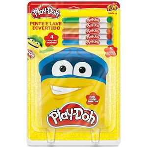 Play Doh Kit de Artes Livro Pinte e Lave Divertido Fun 80755