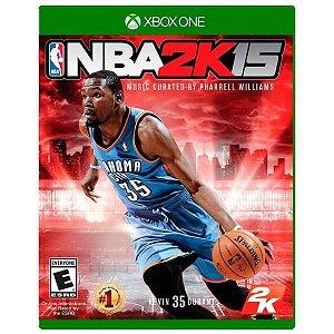Jogo Mídia Física Nba 2k15 Original Para Xbox One