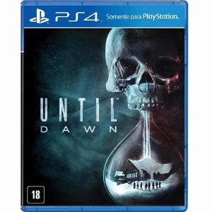 Jogo Mídia Física Until Dawn Original Para Playstation 4