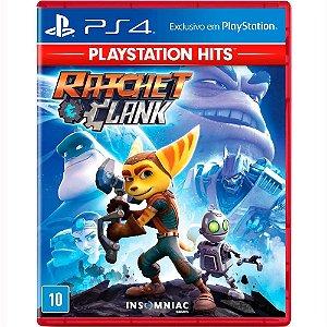 Jogo Midia Fisica Ratchet And Clank Playstation Hits pra Ps4