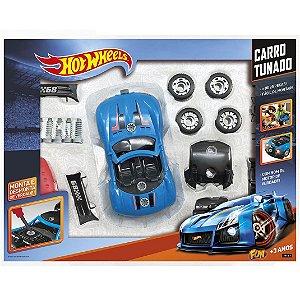 Hot Wheels Carro Tunado Surpresa Monte e Desmonte Fun 79721