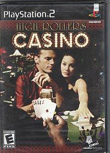 Jogo Mídia Física High Rollers Casino Para Ps2