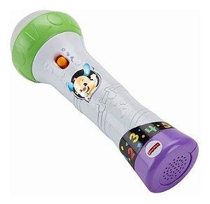 Brinquedo Fisher Price Aprender E Brincar Microfone Fbr74
