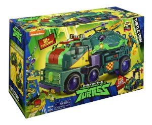 Brinquedo Tartarugas Ninjas Turtle Tank 2 em 1 Sunny 2047