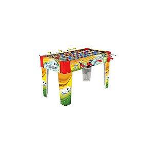 Novo Brinquedo Da Xalingo Pebolim Soccer Team 127x116x75 Cm