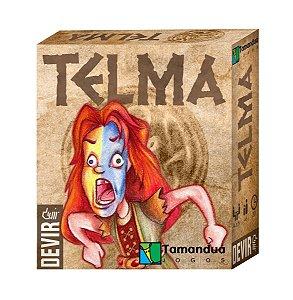 Jogo De Cartas Jogo Da Memória Telma Original Devir