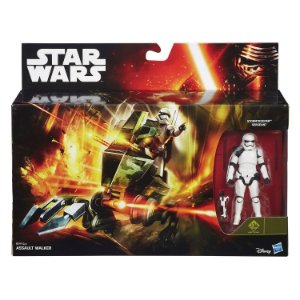 Veiculo Star Wars Assault Walker e Stormtrooper Hasbro B3716