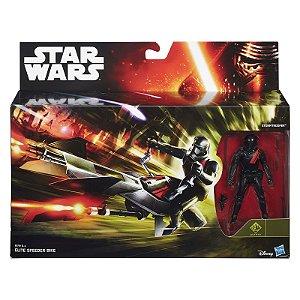Veiculo Star Wars Elite Speeder Bike e Stormtrooper B3716
