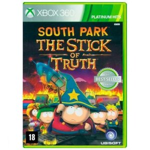 Jogo Midia Fisica South Park The Stick of Truth pra Xbox 360