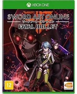 Jogo Mídia Física Sword Art Online Fatal Bullet Pra Xbox One