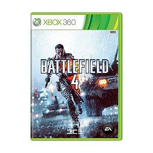 Jogo Mídia Física Original Battlefield 4 Para Xbox 360