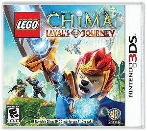 Jogo Novo Lego Legends Of Chima Laval's Journey Nintendo 3ds