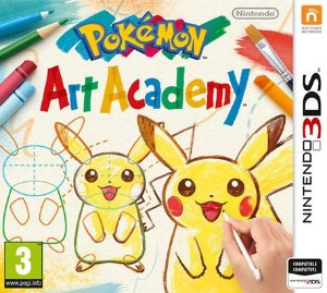 Jogo Novo Lacrado Pokemon Art Academy Para Nintendo 3ds