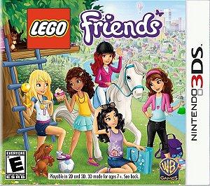 Jogo Novo Lacrado Lego Friends Para Nintendo 3ds