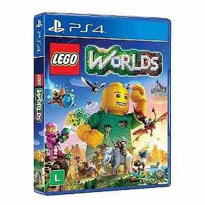 Jogo Mídia Física Lego Worlds Original Para Playstation 4