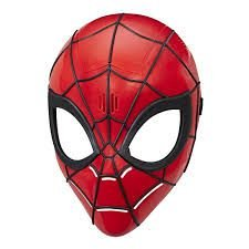 Mascara Super Heroi Spider Man Homem Aranha Marvel Fx E0619