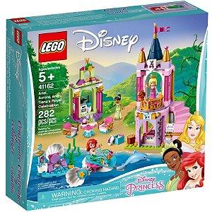 Lego Disney A Celebracao Real de Ariel Aurora e Tiana 41162