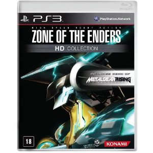 Jogo Midia Fisica Zone of The Enders Hd Collection para Ps3
