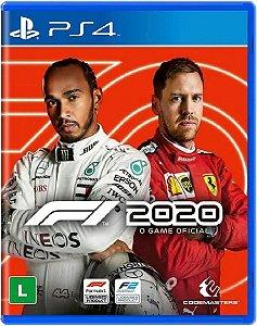Jogo Corrida Português F1 2020 Ps4 Mídia Física Novo Lacrado