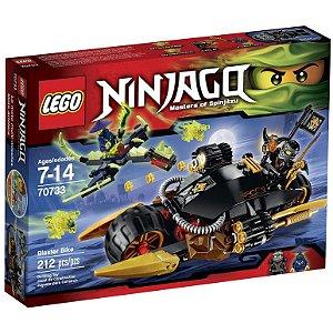Lego Ninjago Veiculo Bicicleta Blaster com 212 Peças 70733