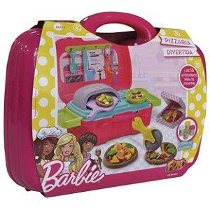 Massinha de Modelar Barbie Pizzaria Divertida da Fun F00129