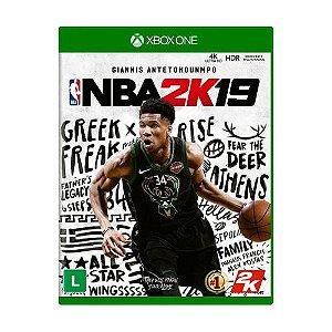 Jogo Mídia Física Nba 2k19 Original Para Xbox One