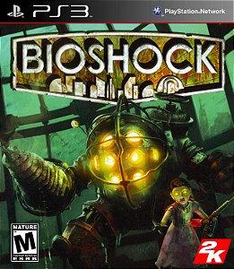 Jogo Mídia Física Bioshock Original Para Ps3
