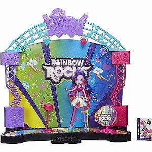 Brinquedo Boneca Equestria My Little Pony Palco Pop A8060