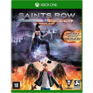 Jogo Novo Midia Fisica Saints Row IV Re-Elected pra Xbox One