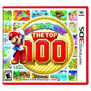 Jogo Midia Fisica Mario Party The Top 100 para Nintendo 3DS