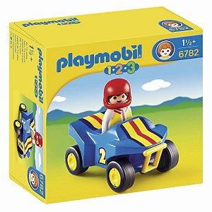 Brinquedo Playmobil Quadriciclo Original 6782 Sunny