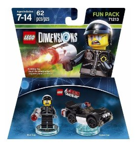 Novo Lacrado Lego Dimensions Fun Pack Bad Cop 71213