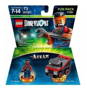 Novo Fun Pack Lego Dimensions The A-team Oiginal 71251